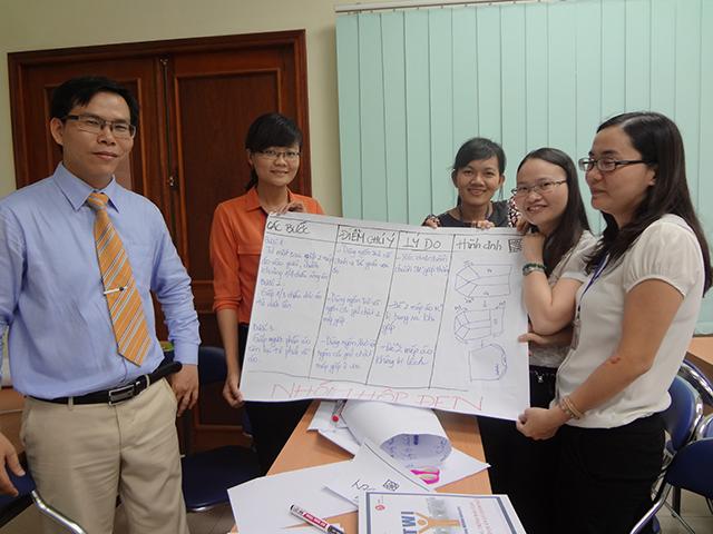 Chương trình đào tạo dành cho quản lý giám sát – VMEP(15.10.2014)