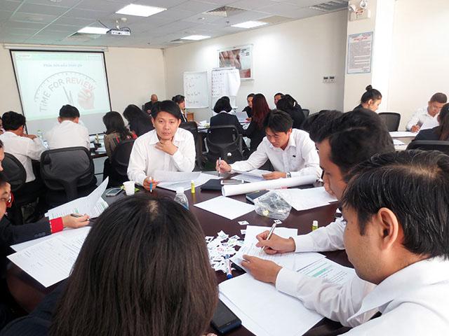 Kỹ năng hướng dẫn và động viên Nhân Viên làm việc hiệu quả – Sacombank (09 & 10.12.2014)